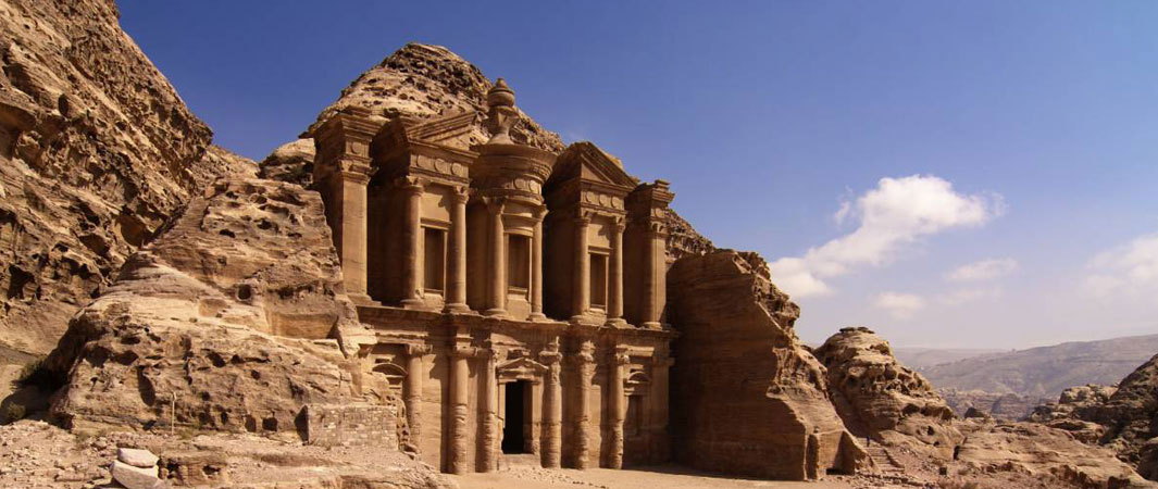 The Monastery in Petra Jordan